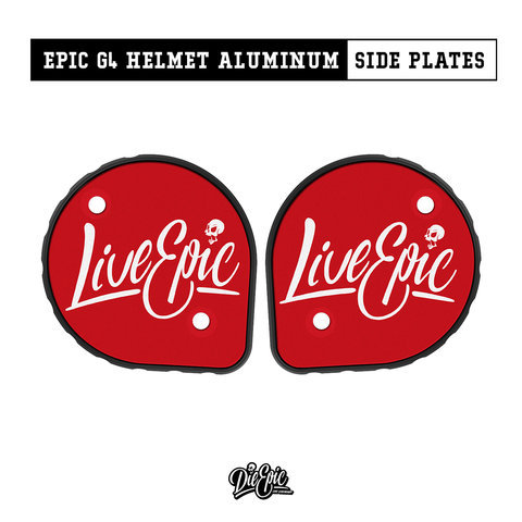 Image of Epic Cookie Helmet Aluminum Side Plates