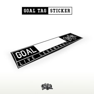 Goal Tag Die Epic Sticker