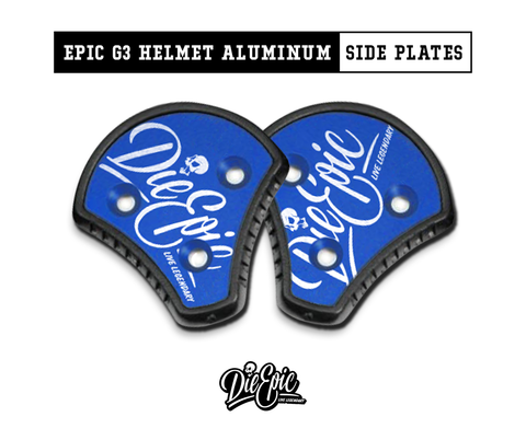 Epic Cookie Helmet Aluminum Side Plates