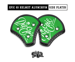 Epic Cookie G3 Helmet Aluminum Side Plates