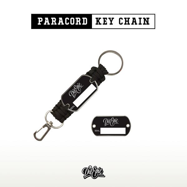 Epic Paracord Key Chain