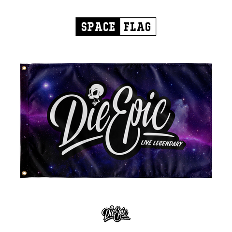 Image of Die Epic Space Flag