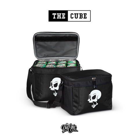 Image of The Cube -  Skull 12-Pack Cooler