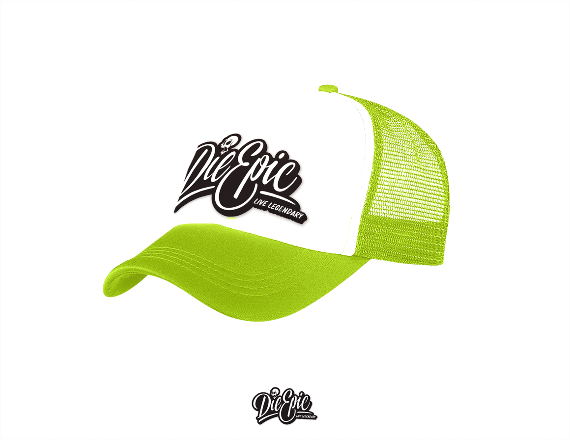 Retro Die Epic Trucker Hats