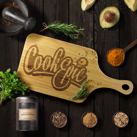 Cook Epic Cutting Board