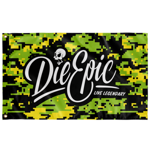 Die Epic Digi Green Flag