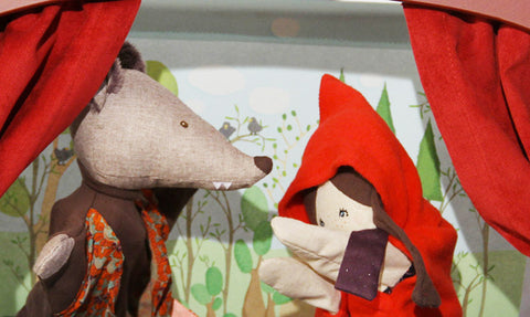 Little Red Riding Hood and Gentleman Wolf - Moulin Roty