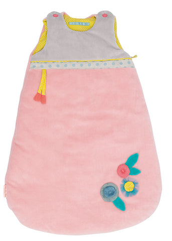 Moulin Roty - Baby sleeping bag Mademoiselle et Ribambelle (70cm / 28 in)