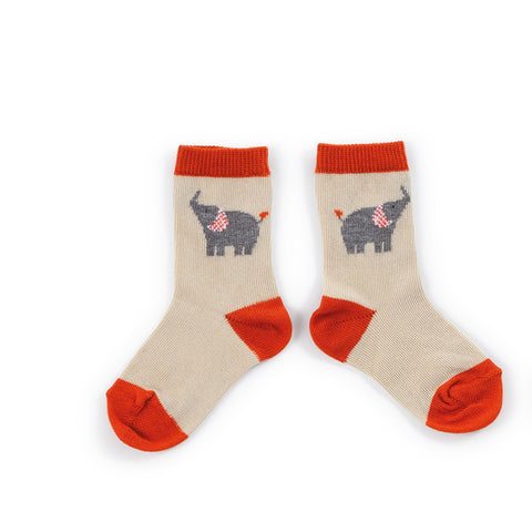 Moulin Roty - Elephant socks