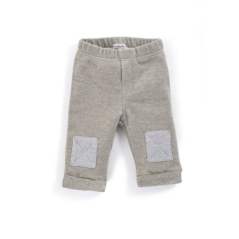 Moulin Roty - Lino - grey trousers with roll hem