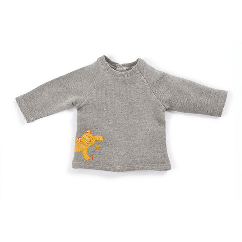 Moulin Roty - Louison - panther sweatshirt
