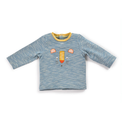 Moulin Roty - Lumeau - blue panther t-shirt