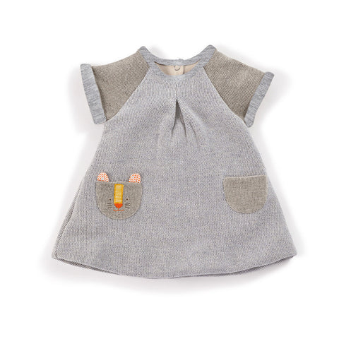 Moulin Roty - Luzia - grey panther dress