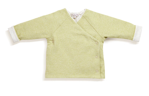 Moulin Roty - Meo Grey / green cardigan