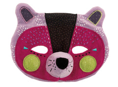 Moulin Roty - Esther the panther mask,Fabric mask