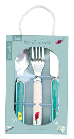 Moulin Roty - Set of cutlery