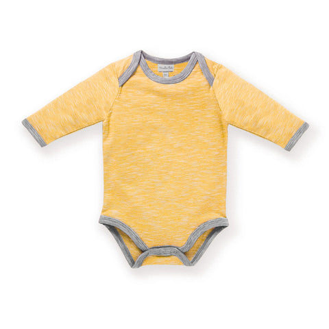 Moulin Roty - Yellow long-sleeved vest