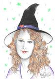 Custom Witch Portrait