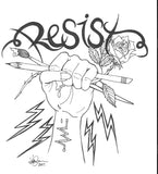 Resist With Art Tee