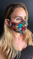 Peace Face Mask - Unisex / Reusable / Washable