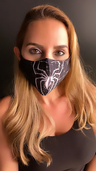 Superhero Spiderman  Face Mask - Unisex / Reusable / Washable