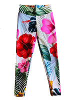 Amazon Hibiscus   Leggings