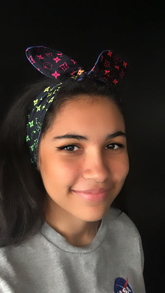 Rainbow Hello Kitty Headbands