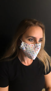 Designer Inspired Unisex Face Mask - Unisex / Reusable / Washable