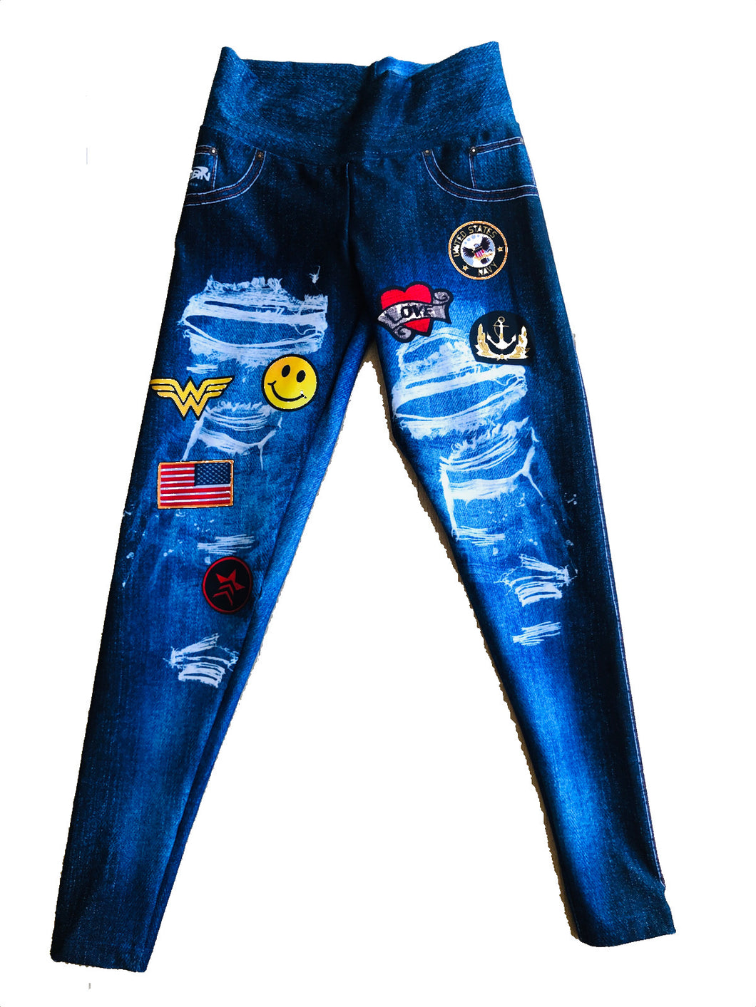 Emojis USA   Jean Leggings