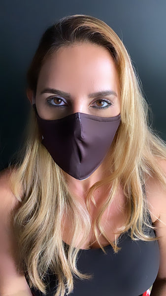 Black Face Mask - Unisex / Reusable / Washable