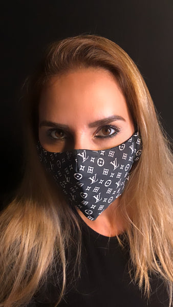 DesignerLV Inspired Unisex Face Mask - Unisex / Reusable / Washable