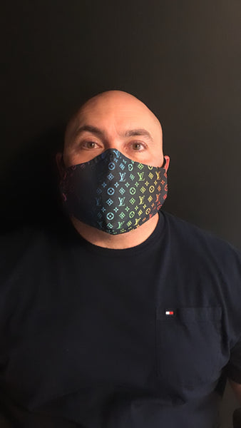 CLV Designer Inspired Unisex Face Mask - Unisex / Reusable / Washable