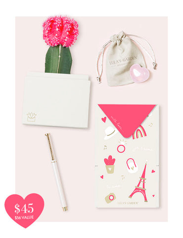 Cupid Garden Gift Set