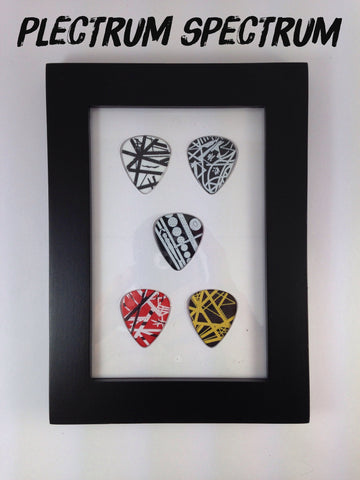 "4"" x 6"" Vertical - Holds 5 Standard Guitar Picks"