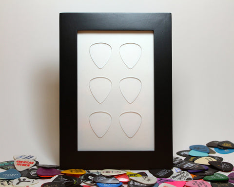 "4"" x 6"" Vertical - Holds 6 Standard Guitar Picks"