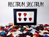 "4"" x 6"" Horizontal - Holds 6 Standard Guitar Picks"