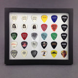 "8"" x 10"" Horizontal Guitar Pick Display Frame - Clear - HOLDS 30 PICKS"