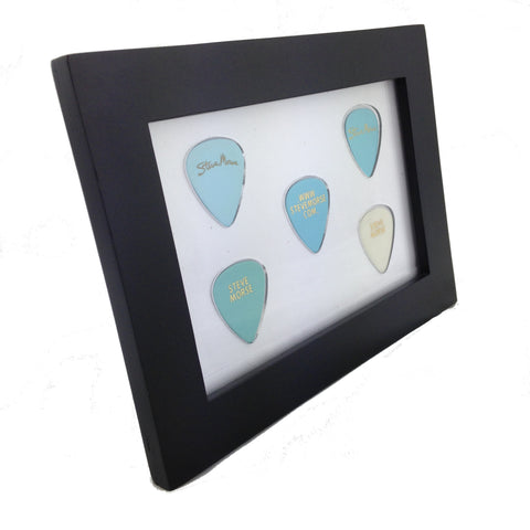 "4"" x 6"" Horizontal -  Holds 5 Standard Guitar Picks"