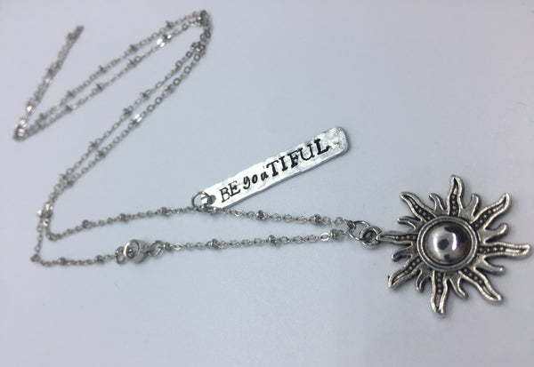BE-YOU-TIFUL  Sunshine - Necklace - Berkley's Boutique