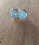 Quartz Druzy Earring Studs - Berkley's Boutique