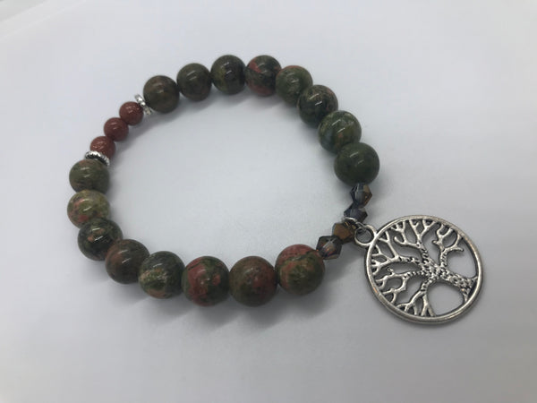 Live In The Now - Tree Of Life Bracelet