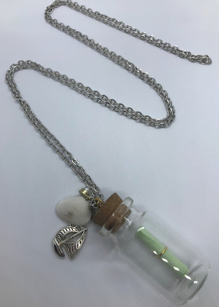 Message In A Bottle Necklace - Custom Love Note Necklace