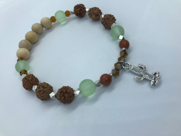 Desert Vibes - Positive Resilience Bracelet ( Nurture and Joy ) - Berkley's Boutique