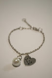 Sea La Vie With Peal Charm Bracelet  - Berkley's Original - Berkley's Boutique