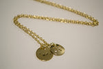 Gold Surf & Sand Dollar 18 Inch Necklace - Berkley's Original - Berkley's Boutique