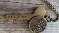 Berkleys Boutique - NickelFree, Necklace, Key, Free, Let It GO,
