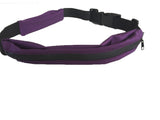 Shimono Exercise Running Belt with Expandable Storage Pockets