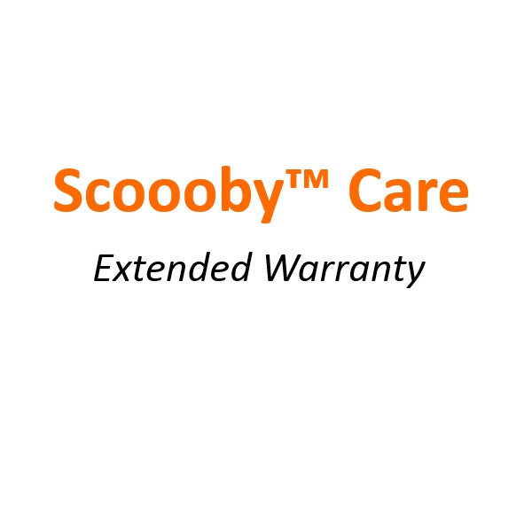 SCOOOBY™ Care Extended Warranty