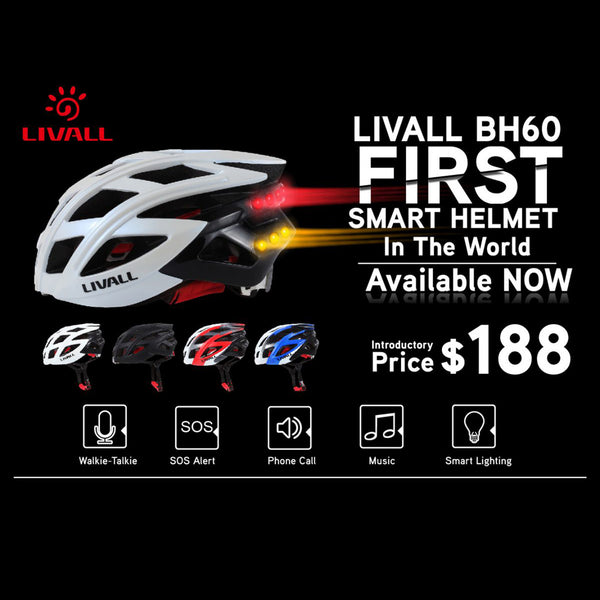 Livall BH60 The First Smart Bling Helmet In The World