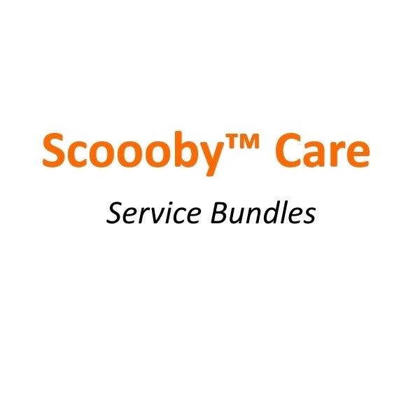 SCOOOBY™ Care Service Bundles.